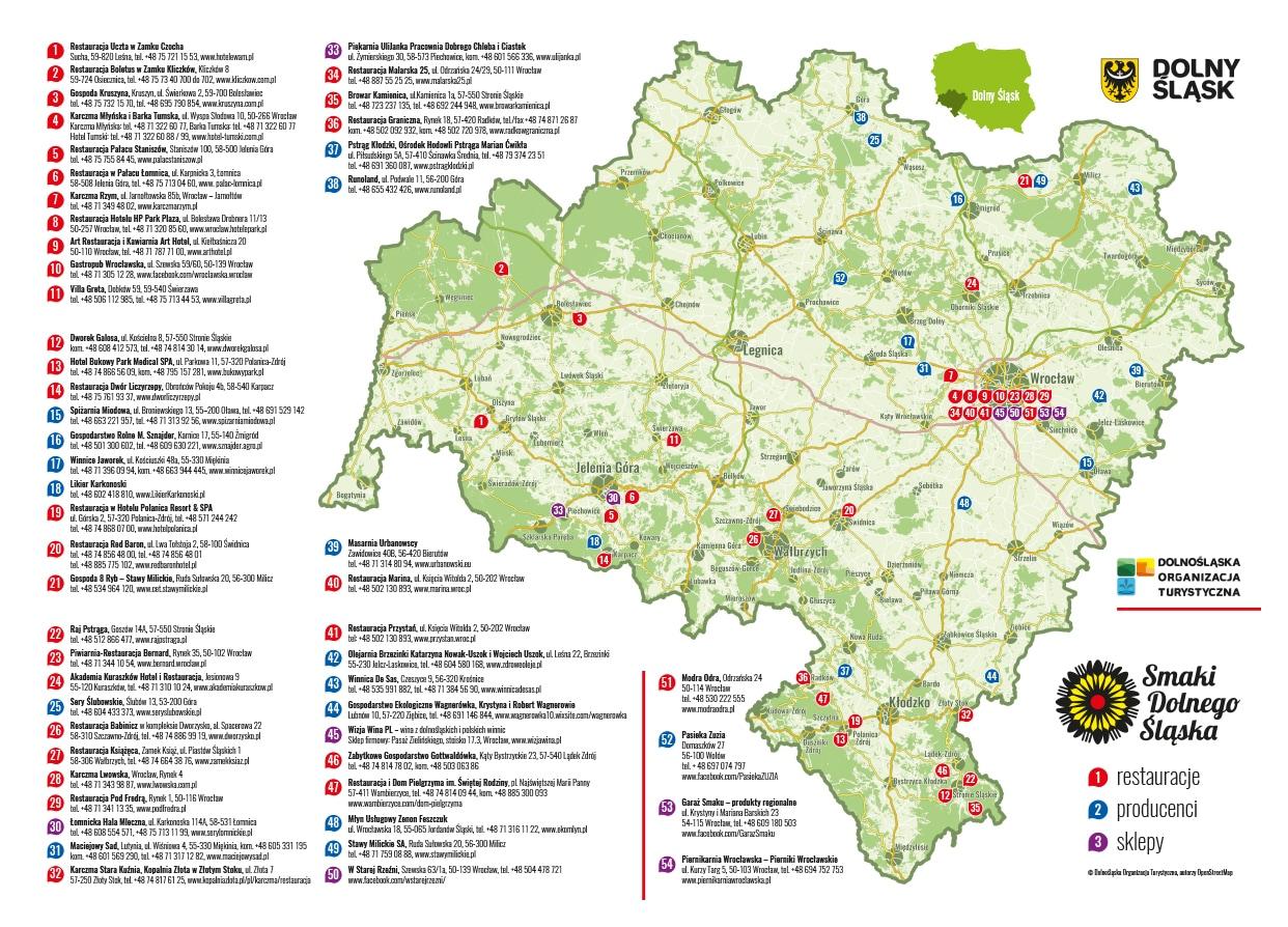 Mapa Smaków Dolnego Śląska