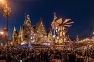 Jarmark Bożonarodzeniowy we Wrocławiu. Zdjęcie Wiesław Jurewicz