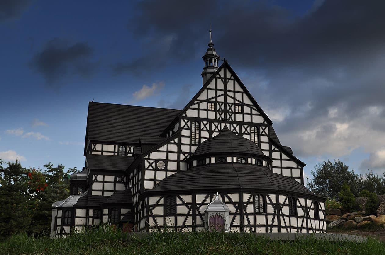 Park Miniatur - Kościół Pokoju w Świdnicy. SunSeasons24