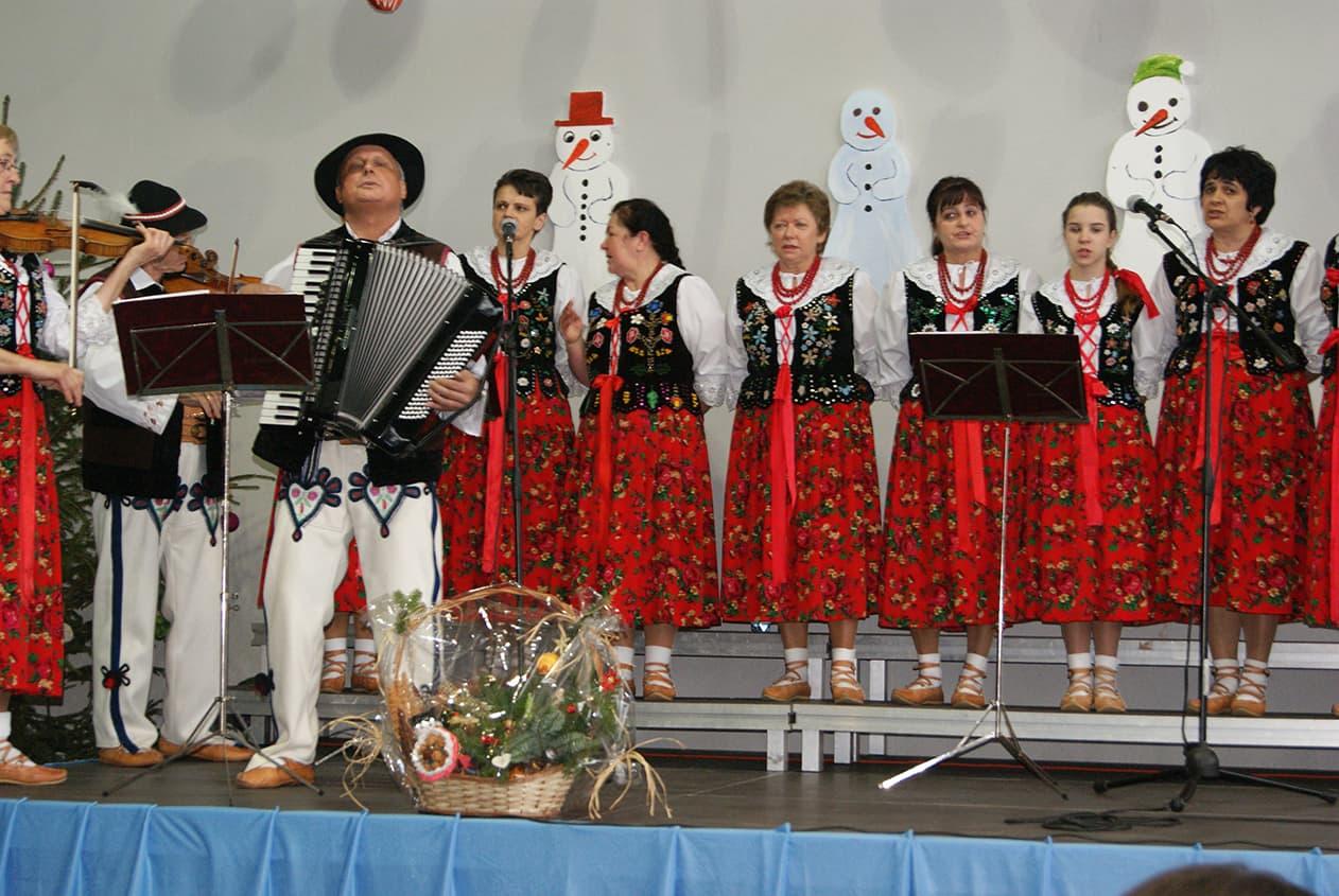 Zespół ludowy Katarzynki. Zdjęcie Barbara Jakimowicz-Klein