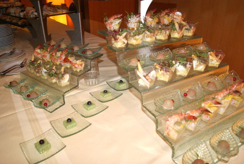 Sałatki z owocami morza, zdjęcie Barbara Jakimowicz-Klein blog SunSeasons24