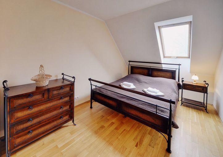 Sypialnia, Apartament Kasztanowy, Karpacz, blog SunSeasons24