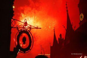 Wrocławska noc sylwestrowa, zdjęcie Wiesław Jurewicz, blog SunSeasons24