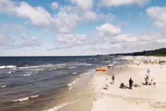 Plaża Kołobrzeg blog SunSeasons24