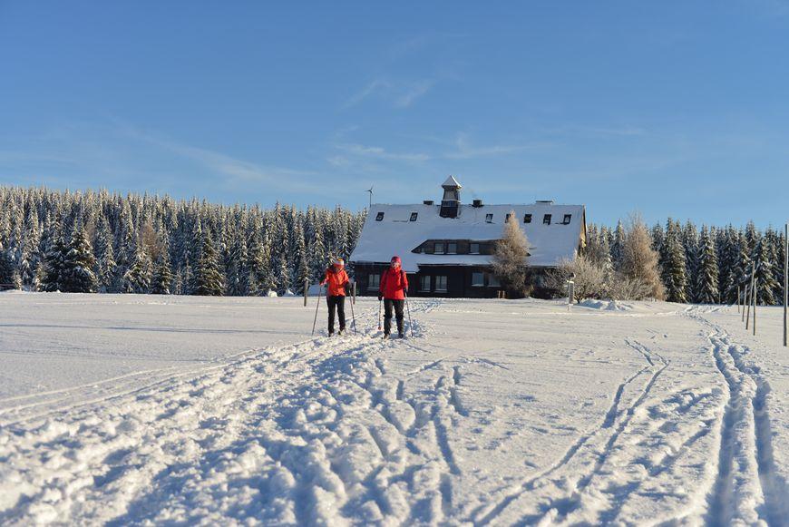 Rekreacja na biegówkach zdjęcie Krzysztof Siwa blog SunSeasons24