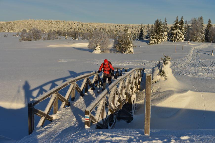 Zimowa trasa piesza zdjęcie Krzysztof Siwa blog SunSeasons24