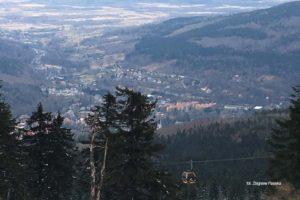 Panorama Świeradowa ze Stogu Izerskiego zdjęcie Zbigniew Pasieka blog SunSeaons24