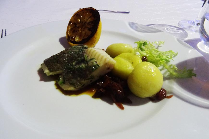 Tołpyga z szarym sosem i kluskami śląskimi zdjęcie Barbara Jakimowicz-Klein blog SunSeasons24