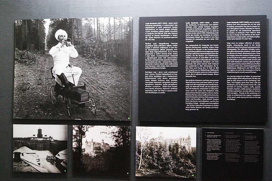 Wystawa fotografii autorstwa Hardouina nadwornego kucharza rodziny Hochbergów zdjęcie Barbara Jakimowicz-Klein blog SunSeasons24