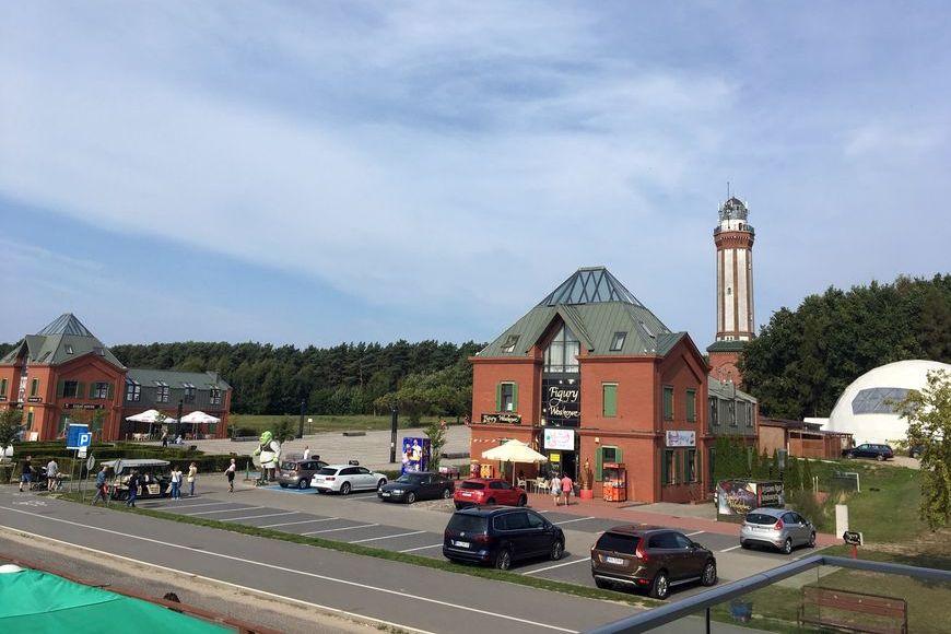 Widok z Apartamentu Baltic Cliff. Zdjęcie Zbigniew Pasieka blog SunSeasons24.