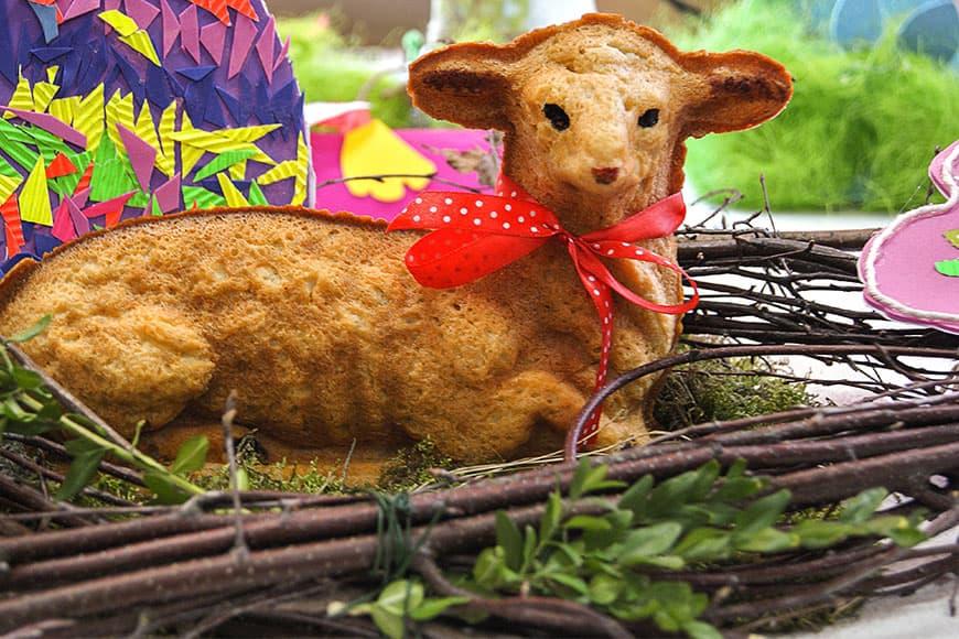 Wielkanocny baranek zdjęcie Barbara Jakimowicz-Klein blog SunSeasons24