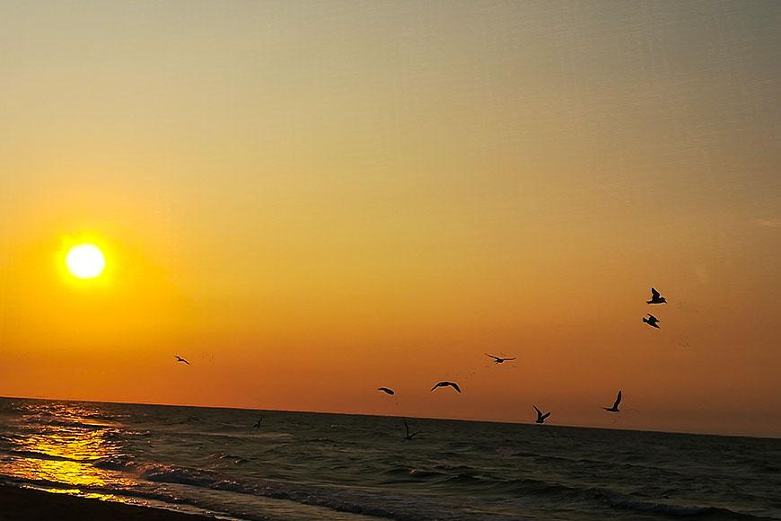 Zachód Słońca, Niechorze, zdjęcie Zbigniew Pasieka blog SunSeasons24