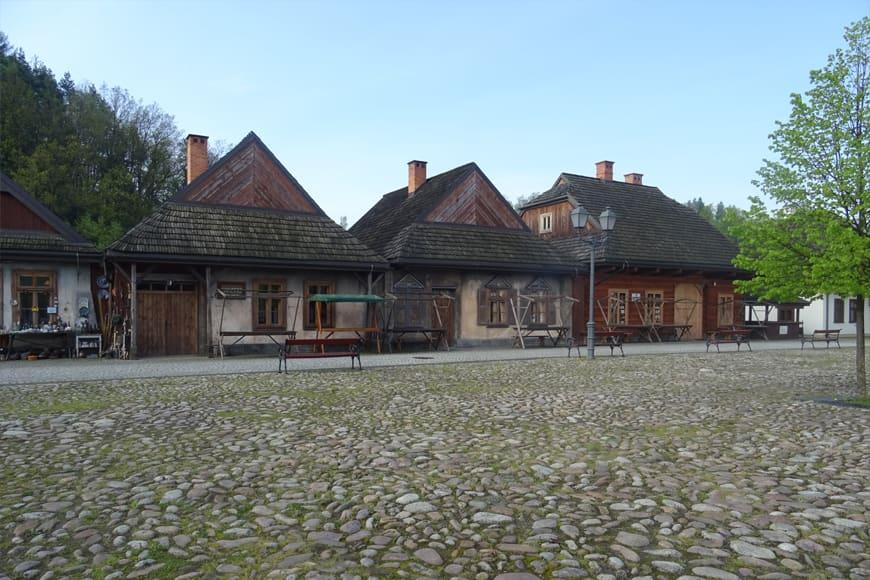 Repliki domów galicyjskich zdjęcie Barbara Jakimowicz-Klein blog SunSeasons24
