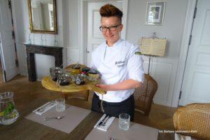 Szefowa kuchni Wioletta Sobieraj zdjęcie Barbara Jakimowicz Klein blog SunSeasons24