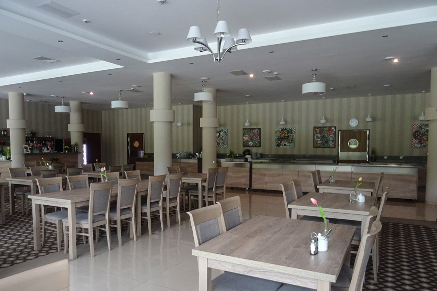 Restauracja Nowy Zdrój. Zdjęcie Barbara Jakimowicz-Klein. Blog SunSeasons24