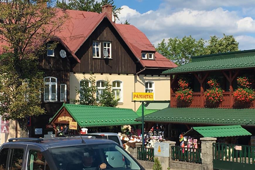 Centrum Karpacza. Zdjęcie Zbigniew Pasieka. Blog SunSeasons24.