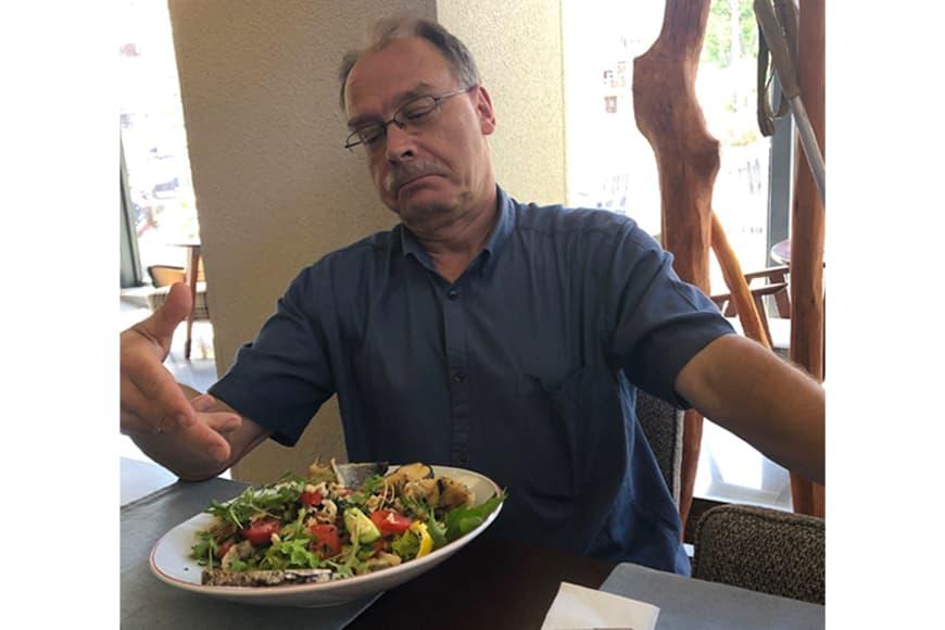 Lunch w barze Pohulanka. Zdjęcie Jarosław Leszczyński. Blog SunSeasons24.