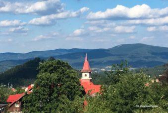 Panorama Karpacza. Zdjęcie Zbigniew Pasieka. Blog SunSeasons24.