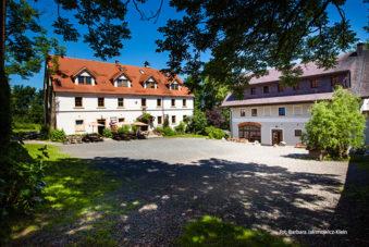 Pensjonat i restauracja Villa Greta w Dobkowie. Zdjęcie Barbara Jakimowicz-Klein. Blog SunSeasons24