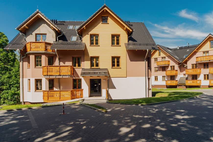Apartamenty Nadrzeczna II w Karpaczu, zdjęcie Krzysztof Siwa. Blog SunSeasons24.