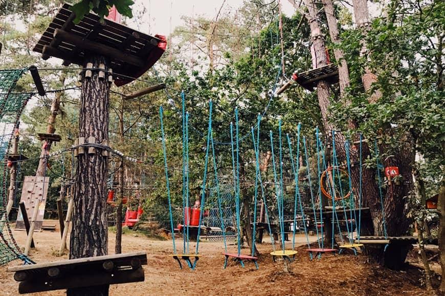 Park linowy w Pobierowie zdjęcie Sara blog SunSeasons24