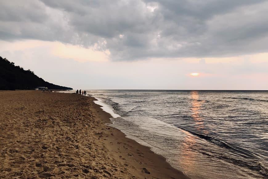 Plaża w Pobierowie zdjęcie Sara blog SunSeasons24
