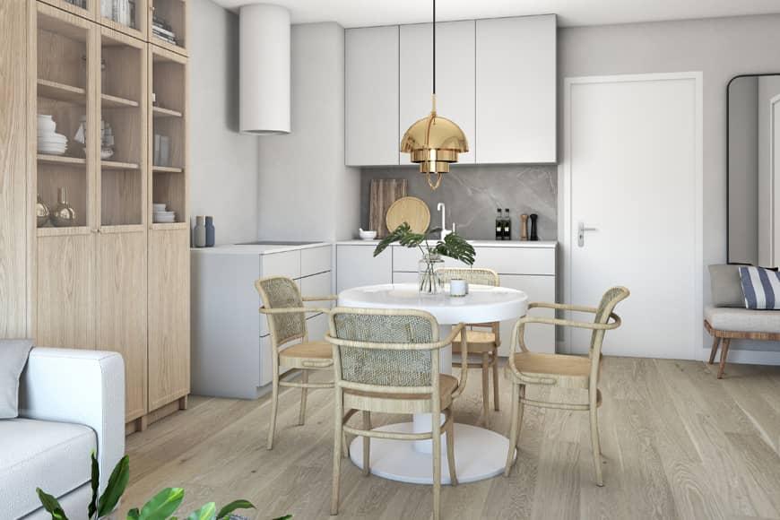 Aneks kuchenny w apartamencie Gąski. Blog SunSeasons24