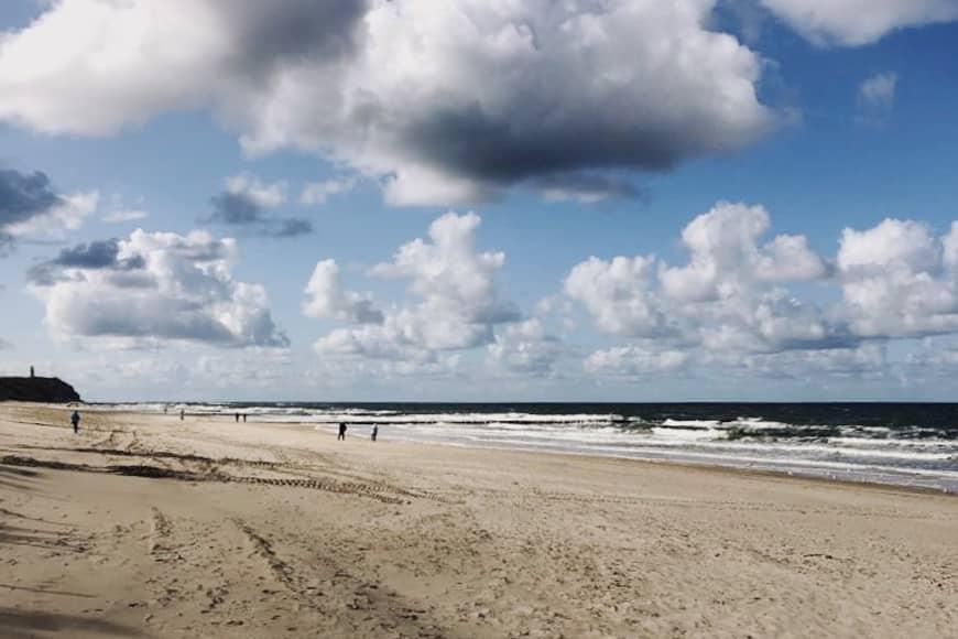 Plaża nad Bałtykiem. Zdjęcie Sara. Blog SunSeasons24