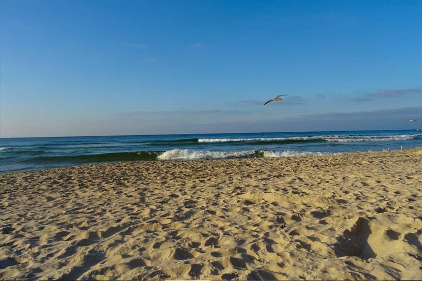 Plaża zachodnia w Kołobrzegu. Zdjęcie Barbara Jakimowicz-Klein. Blog SunSeasons24