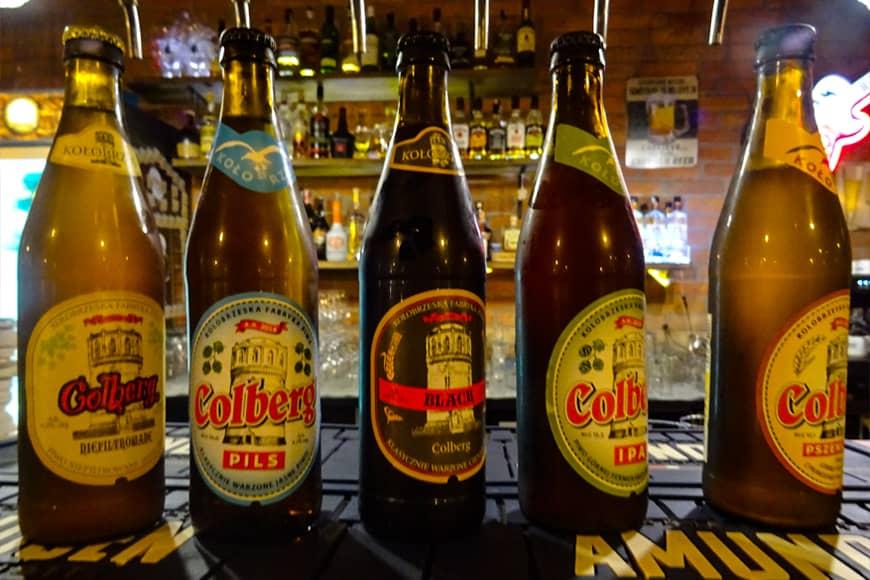 Różne typy piwa kraftowego dla koneserów. Zdjęcie Barbara Jakimowicz-Klein. Blog SunSeasons24