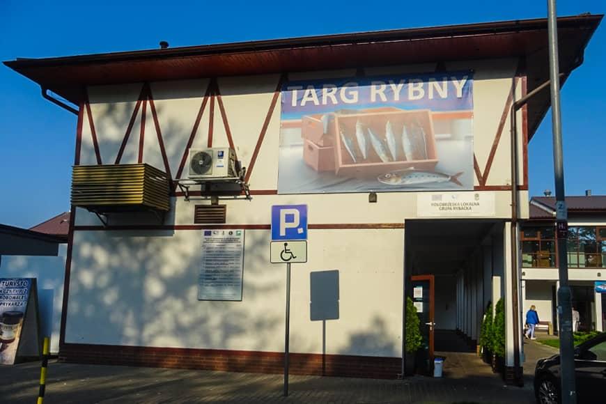Targ Rybny w Kołobrzegu. Zdjęcie Barbara Jakimowicz-Klein. Blog SunSeasons24