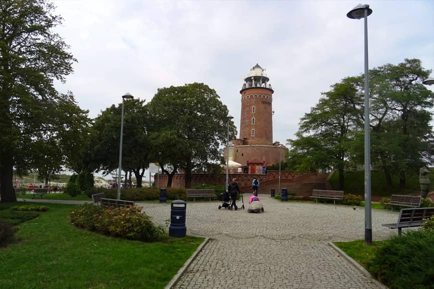 Latarnia morska w Kołobrzegu. Zdjęcie Barbara Jakimowicz-Klein. Blog SunSeasons24