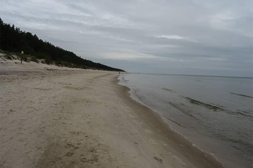 Plaża w Grzybowie. Zdjęcie Barbara Jakimowcz-Klein. Blog SunSeasons24