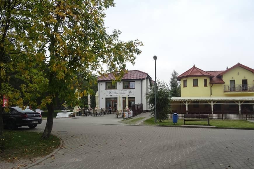 Restauracja Róża Wiatrów w Grzybowie. Zdjęcie Barbara Jakimowicz-Klein. Blog SunSeasons24