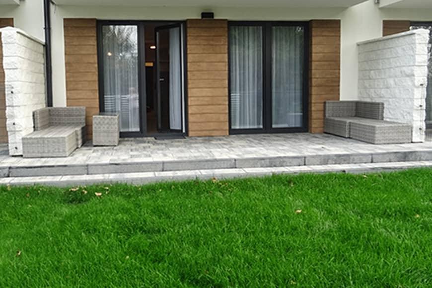 Taras w Apartamencie Jagoda Sun Seasons 24. Zdjęcie Barbara Jakimowicz-Klein. Blog SunSeasons24