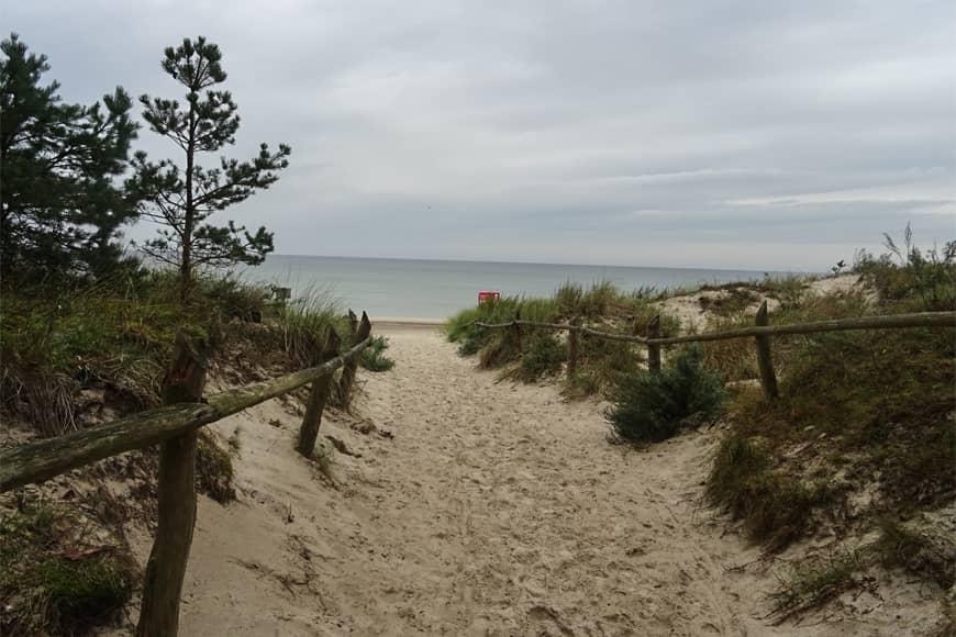 Zejście na plażę. Zdjęcie Barbara Jakimowicz-Klein. Blog SunSeasons24