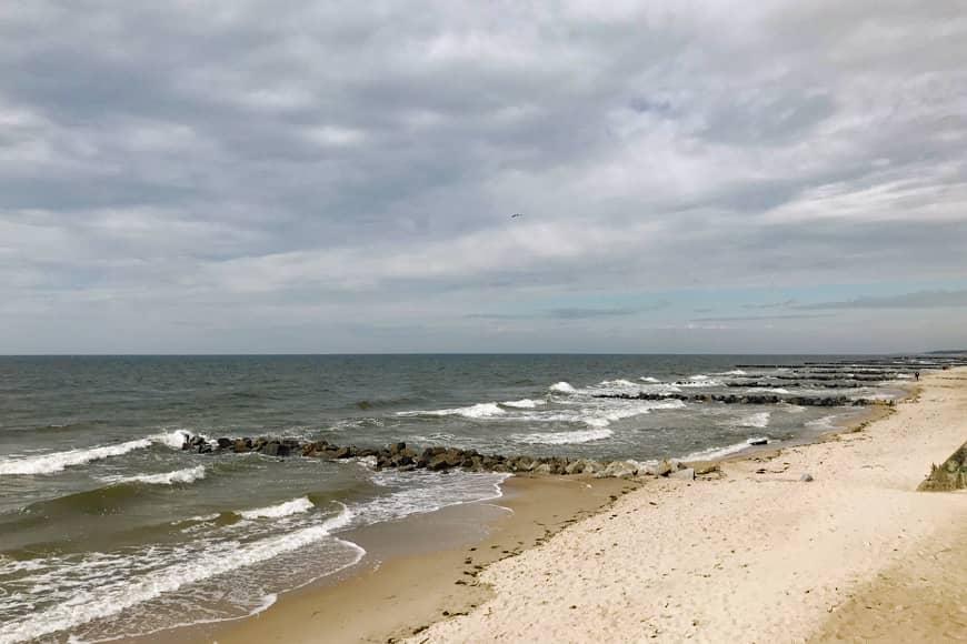 Plaża w Niechorzu. Zdjęcie Sara. Blog SunSeasons24