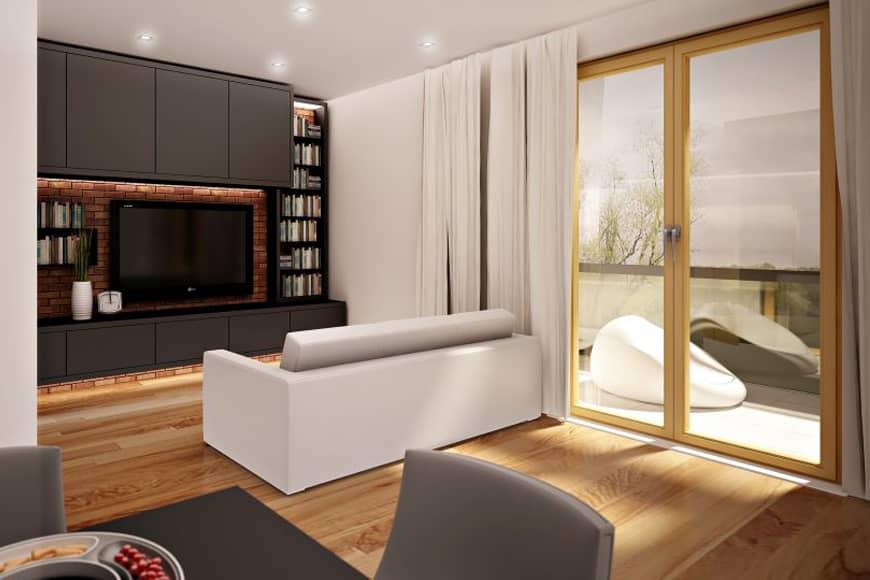 Salon, Apartamenty Kapitańska, Niechorze. Blog SunSeasons24