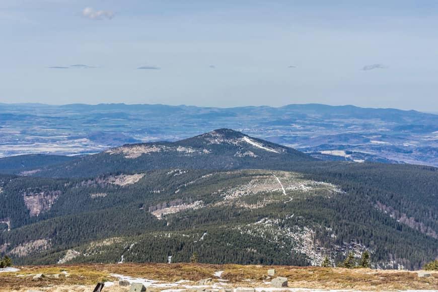 Czarna Góra, na szlaku. Zdjęcie Wiesław Jurewicz. Blog SunSeasons24
