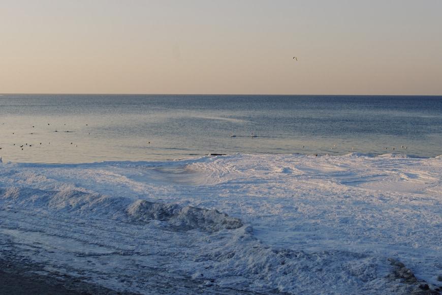 Golden hour na plaży w Kołobrzegu. Zdjęcie Sara. Blog SunSeasons24