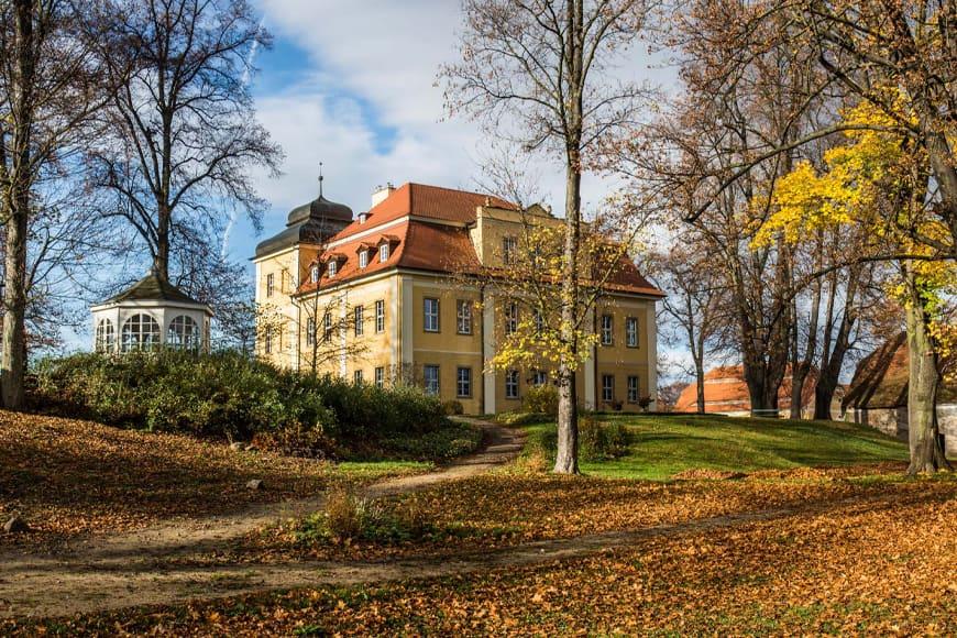 Park Krajobrazowy otaczający pałace. Zdjęcie Wiesław Jurewicz. Blog SunSeasons24