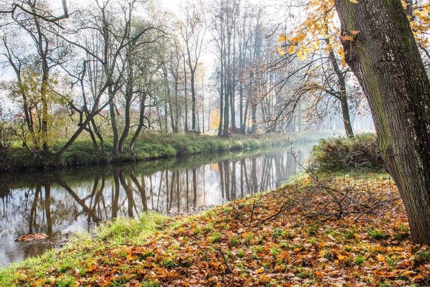 Park krajobrazowy wzdłuż Bobru. Zdjęcie Wiesław Jurewicz. Blog SunSeasons24