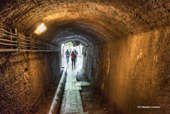 korytarz 2 w Kopalni Złota w Złotym Stoku. Zdjęcie Wiesław Jurewicz. Blog SunSeasons24
