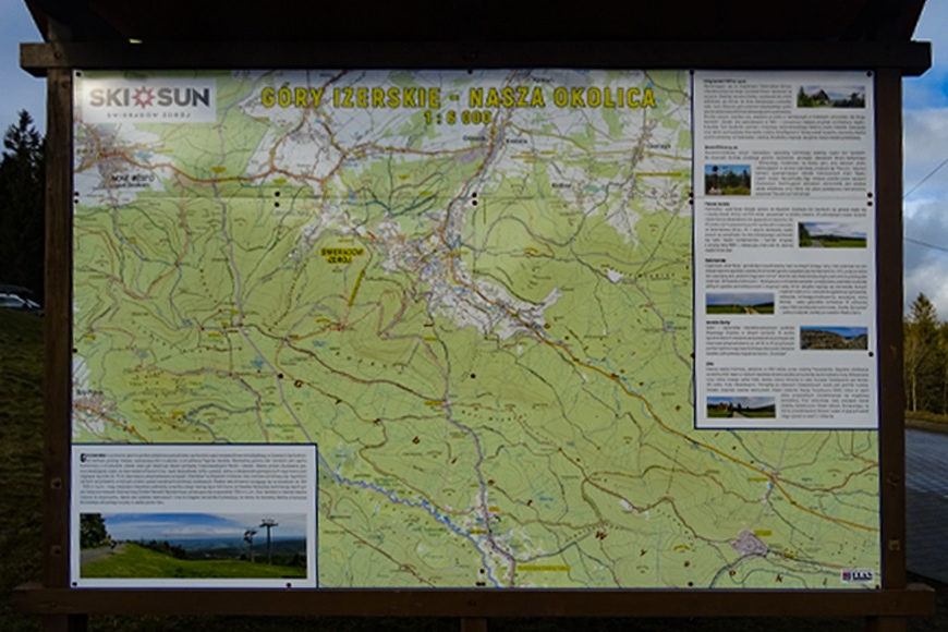 Trasy turystyczne w Górach Izerskich. Zdjęcie Barbara Jakimowicz-Klein. Blog SunSeasons24