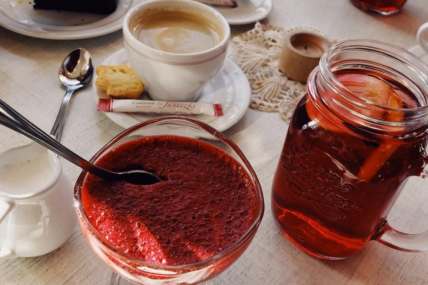 Wizyta w cukierni U Janeczki. Zdjęcie Sara. Blog SunSeasons24.