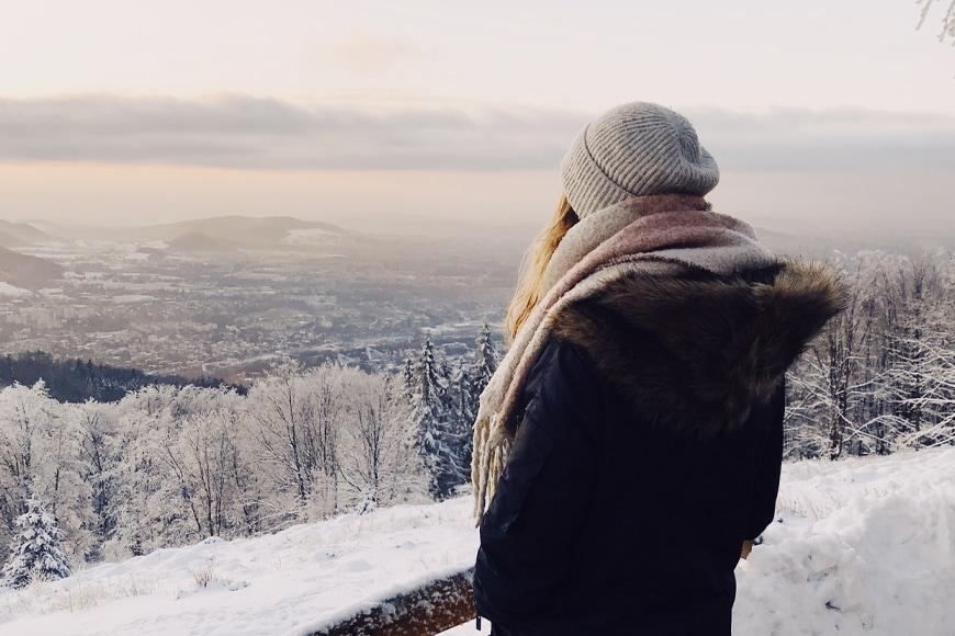 Zimowy spacer na Równicy. Zdjęcie Michał. Blog SunSeasons24.