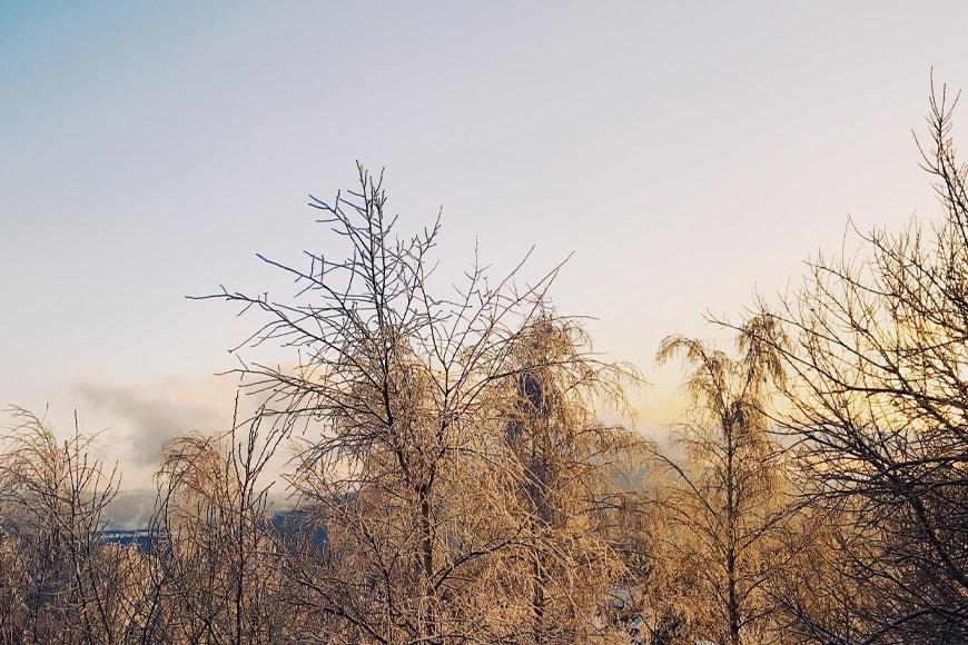 Złota godzina na Równicy. Zdjęcie Sara. Blog SunSeasons24.